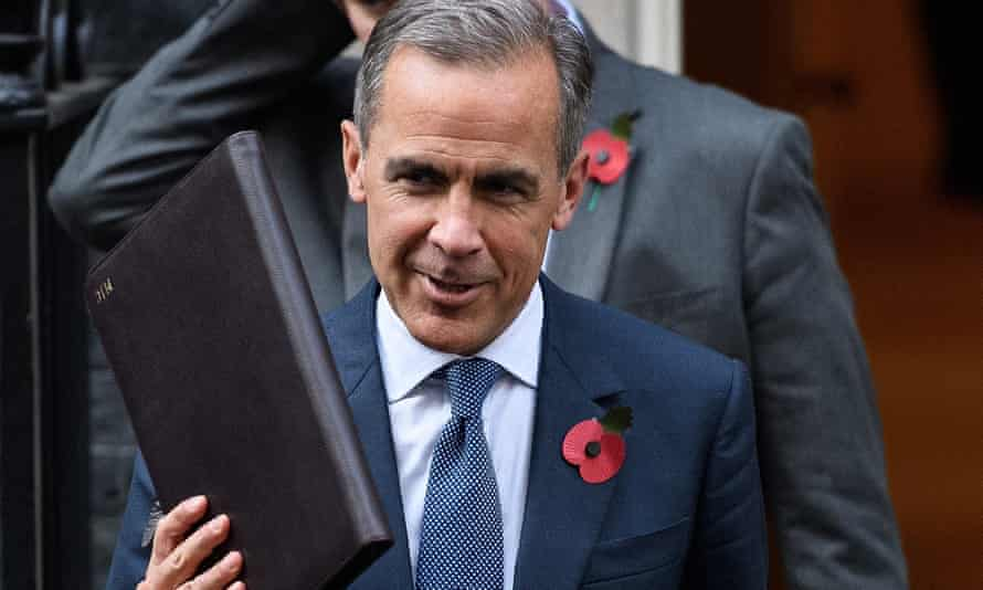 Mark Carney leaves Downing Street after meeting Theresa May. He originally agreed to serve a five-year term until 2018.