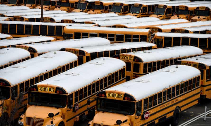 Across the US, 124,000 schools are closed due to coronavirus.
