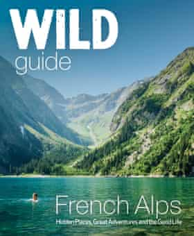 Book cover for Wild Guide French Alps by Wild Things Publishing