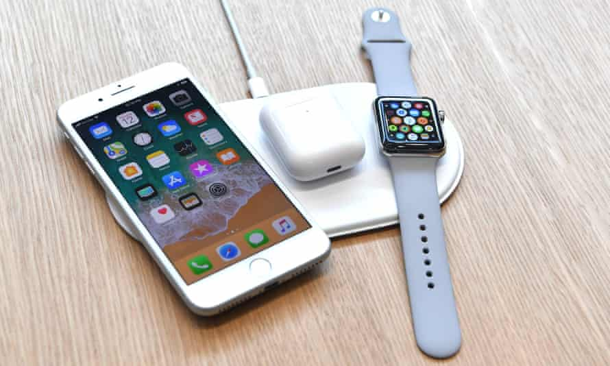 Apple's new AirPower wireless charger.
