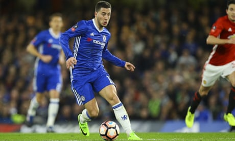 Real Madrid aim to prise Eden Hazard and Thibaut Courtois from Chelsea