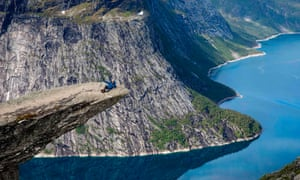On a high … Norway is top of the global happiness chart.