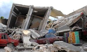 Port-au-Prince in Haiti, following the 2010 earthquake