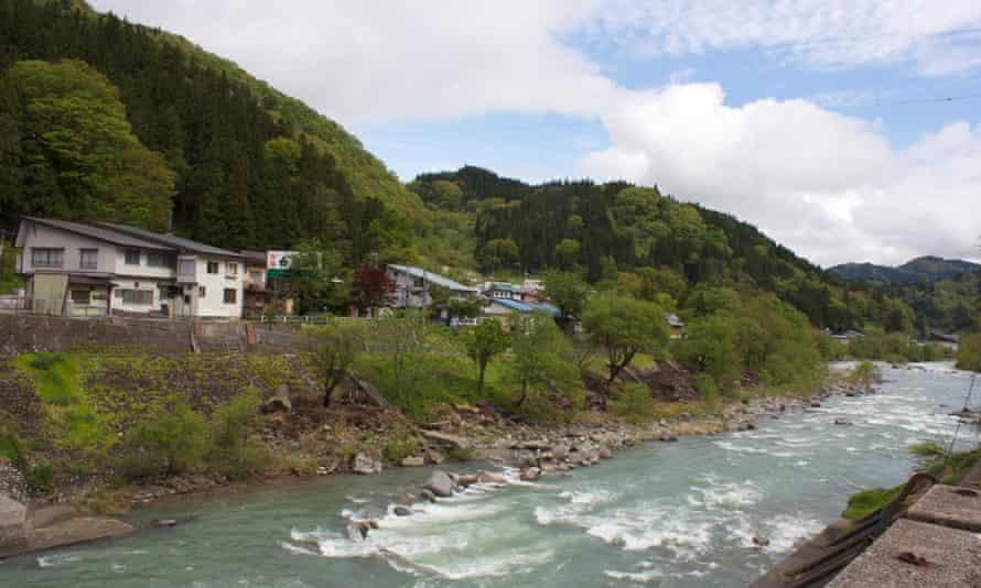Otari village in Nagano Prefecture, Japan.