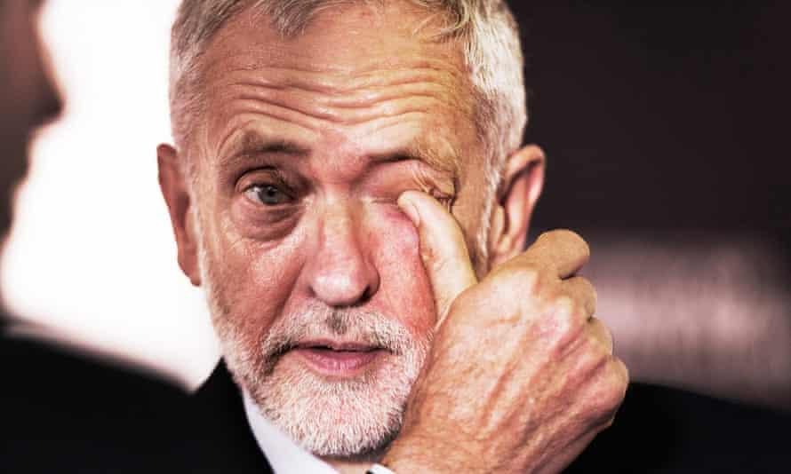 The former Labour leader Jeremy Corbyn
