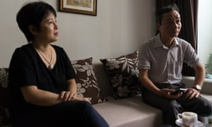 Nguyen Tuong Thuy (right) and Nguyen Thuy Hanh, members of the Brotherhood for Democracy, in a Hanoi flat.
