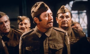 James Beck as Private Walker, the archetypal second world war spiv, in the BBC series Dad's Army.