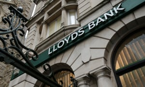 A Lloyds Bank branch in the City of London.