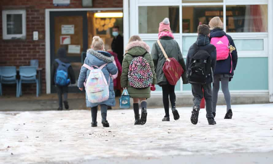School attendance figures have been rising since the start of the latest lockdown.