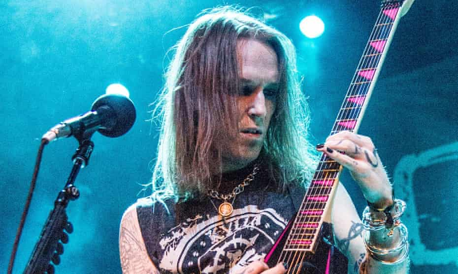 Alexi Laiho performing in 2016.