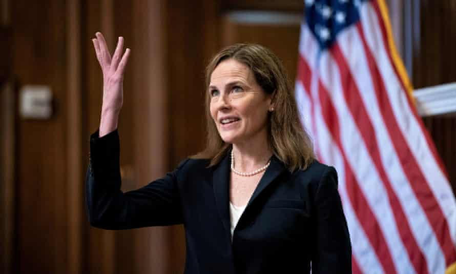 Amy Coney Barrett, Donald Trump's third on the Supreme Court, tilted the panel even further to the right.