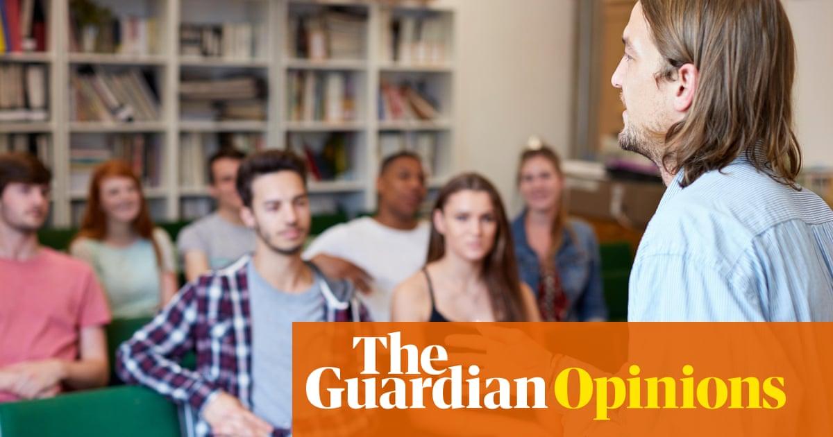 My university forced me into teaching training. It was all dry 'eduspeak'