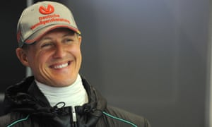 Michael Schumacher at Spa-Francorchamps in 2012. His family have said they are following his wishes in keeping details of his condition private.