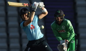 Sam Billings finished unbeaten on 67 from 54 balls to help England reel in Ireland with 22.1 overs to spare.
