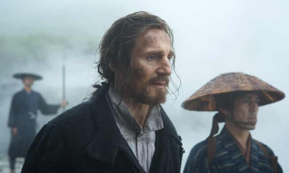 Liam Neeson in Silence.