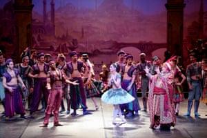 Brooklyn Mack as Lankendem and Tamara Rojo as Medora in Le Corsaire at the Coliseum.