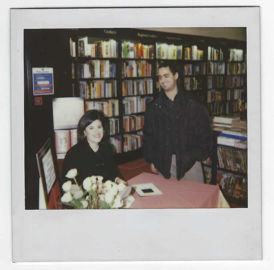 Andrusier with Monica Lewinsky in 1999
