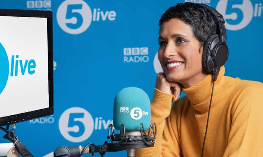 Naga Munchetty on Radio 5 live.