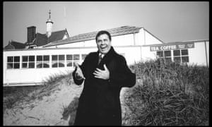 There's comedy and there's acting, but there's no 'comedy acting' … Jerry Lewis, snapped by Peter Chelsom at St Anne's pier.