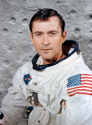 John Young at the Kennedy Space Center, Florida, in 1969.