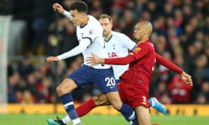 Dele Alli came in for criticism after the defeat at Liverpool last weekend.