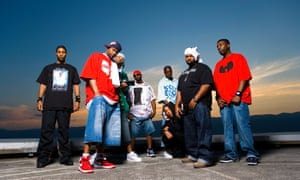 The Wu Tang Clan, rappers, hip hop group