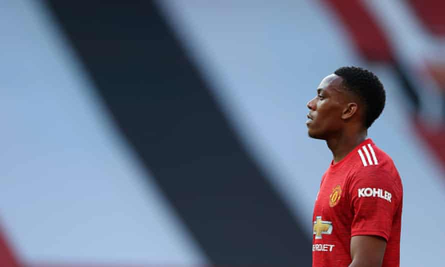 Anthony Martial is yet to score in the league this season.