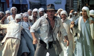 Harrison Ford as India Jones in Raiders of the Lost Ark