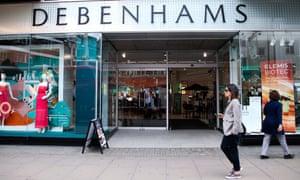 Debenhams in London