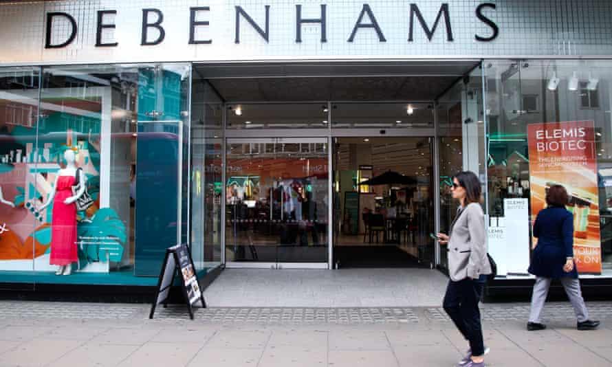 Debenhams store in London