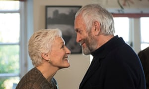 Glenn Close and Jonathan Pryce in The Wife, the new adaptation of Wolitzer's 2003 novel.