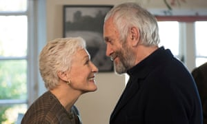The Wife, starring Glenn Close and Jonathan Pryce.