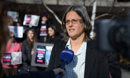 Anita Krajnc in 2015. The case against the Toronto activist has been dismissed by a judge.