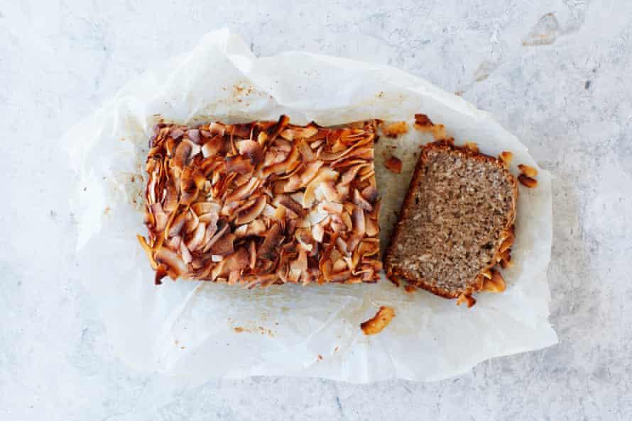 Meera Sodha's vegan banana bread with toasted coconut