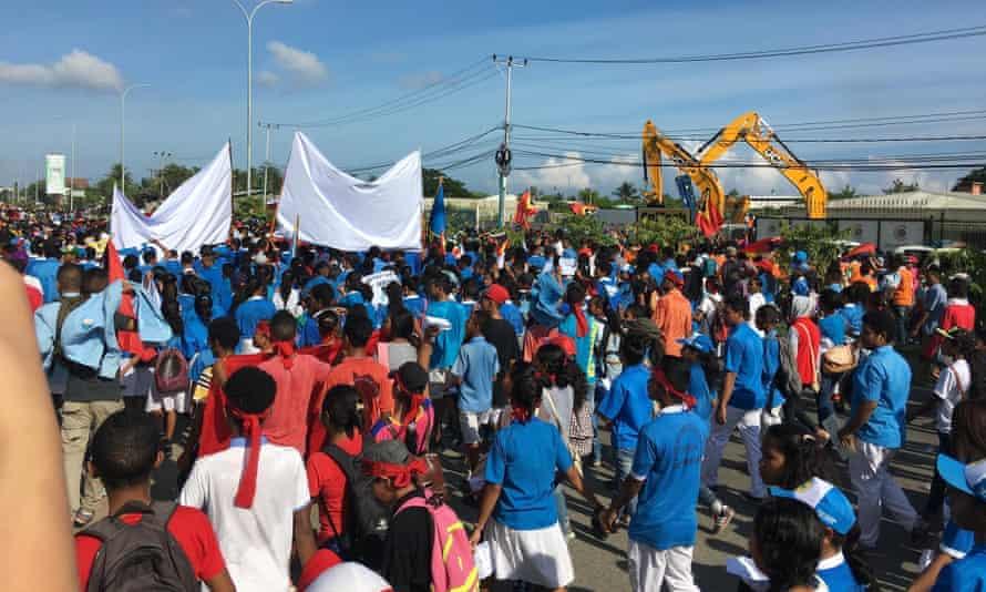 Timor Leste protests