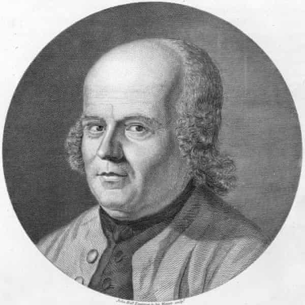Christian Hahnemann, founder of homeopathy.
