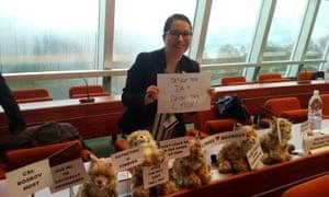 Environmental activist and campaigner Ana Colovic.