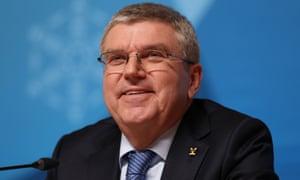IOC president Thomas Bach has created a taskforce.