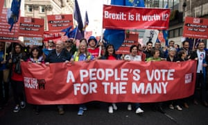 People's vote campaigners