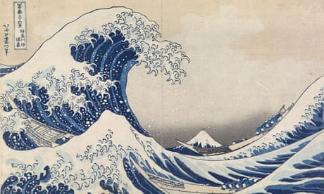 Hokusai: the influential work of Japanese artist famous for 'the great wave' – in pictures