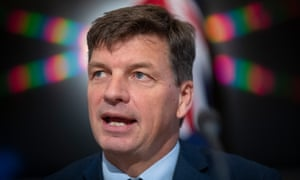 The minister for energy and emissions reduction Angus Taylor.
