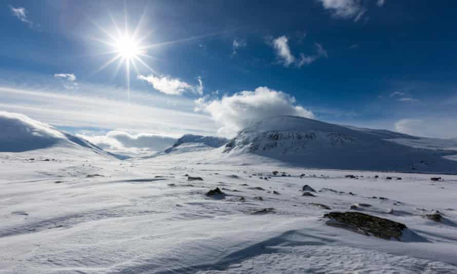 Tjaektja Pass, Lapland