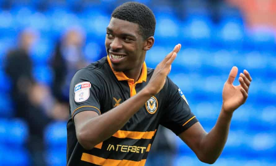 Tyreeq Bakinson, on loan from Bristol City, has played a key role in Newport County's impressive start to the League Two season.