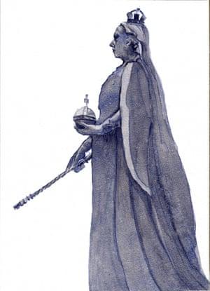 Victoria in bronze