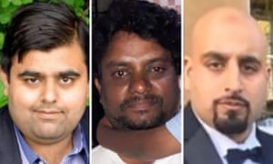 Zeeshan Ahmed, Rajesh Jayaseelan and Ayub Akhtar