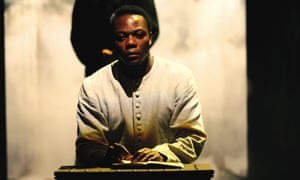 """'Something I""""ll never experience again': Chuk Iwuji as Henry VI at the Royal Shakespeare Company in 2006."""