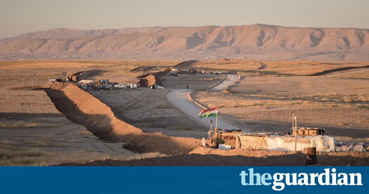 650-mile trench stakes out claim for bigger Kurdish territory in Iraq