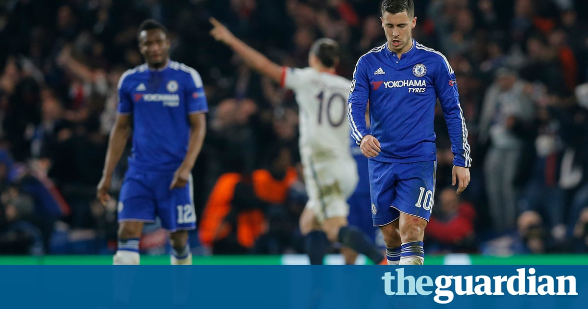 Chelsea 1 2 psg five champions league talking points from for League table 85 86