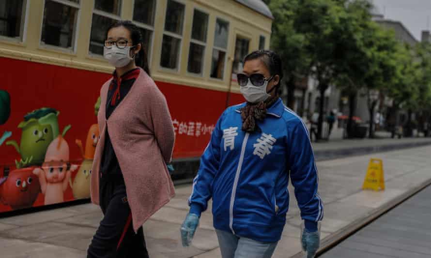 Women in Beijing, China