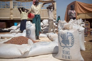 The insurgency displaced millions of people from their homes. In 2007 many displaced people were in camps, depending on food aid for survival